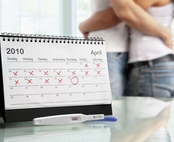 Kalendarz dni płodnych, kiedy dni płodne ?